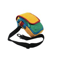 [Bright Day] Fabric Art Multi-Purposes Fanny Waist Pack / Back Pack / Travel Lumbar Pack