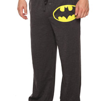DC Comics Batman Logo Mens Pajama Pants