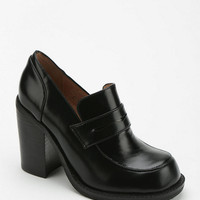 Jeffrey Campbell Richie Heeled Loafer - Urban Outfitters
