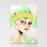 Flowers That Bloom Stationery Cards by Ben Geiger