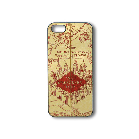 harry potter iphone 5 case harry potter map iphone 4 iphone from suncase on etsy 17014